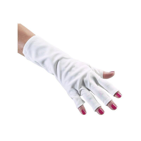 anti-uv gloves professional collection - forpro - nails