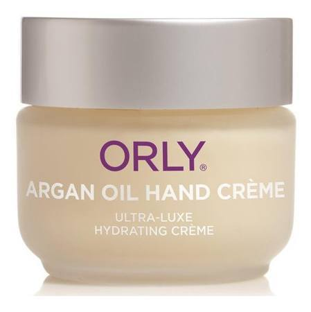 argan oil hand creme - orly - nails