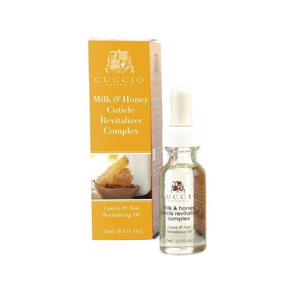 cuticle revitalizer honey and milk complex oil naturale - cuccio - nails