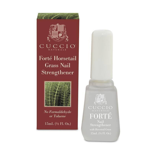 forte nail strengthener - cuccio - nails