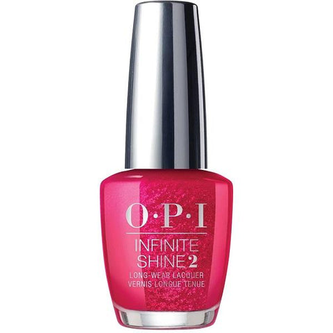 OPI Infinite Shine Red Heads Ahead