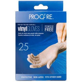 ProCare Vinyl Powder Free Gloves - Small