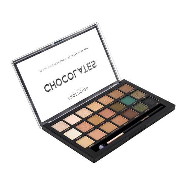Profusion Cosmetics Chocolates Palette & Brush