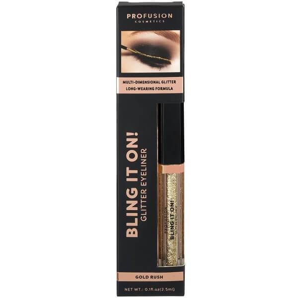 Profusion Cosmetics Bling It On! Glitter Eyeliner - Gold Rush