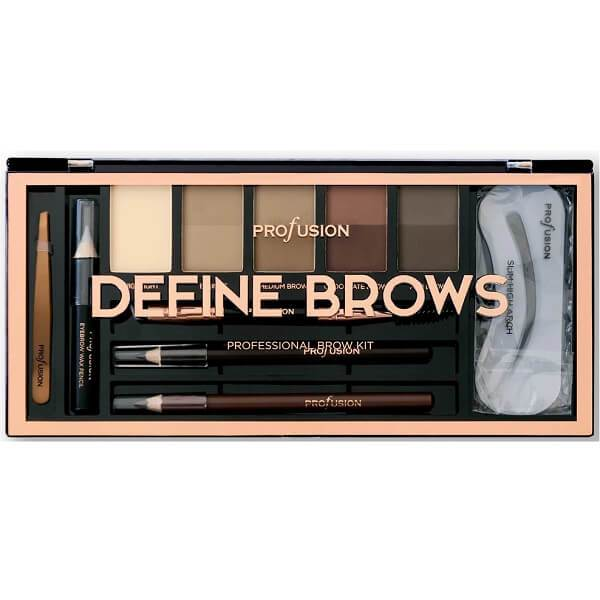 Profusion Cosmetics Define Brows - The Artistry Palette - Brow Palette