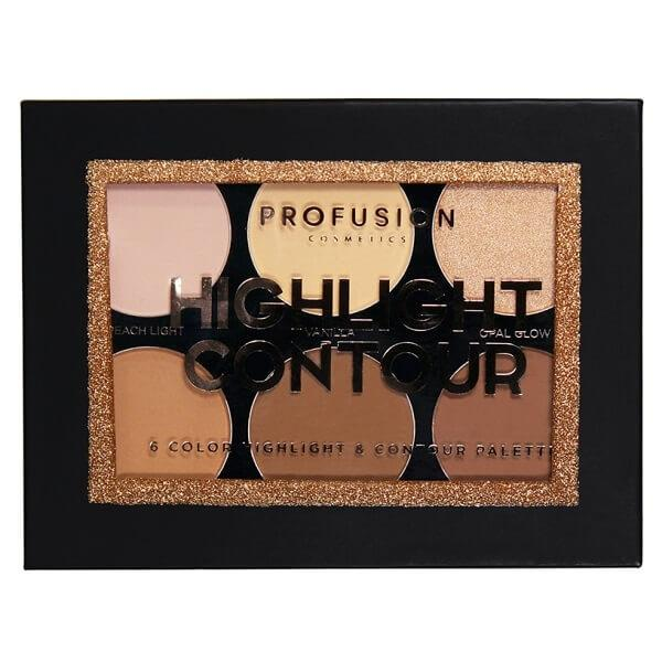 Profusion Cosmetics Highlight & Contour Palette