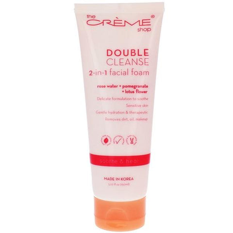 The Creme Shop Clear The Way! Rose Water 60 Pre-Wet Towelettes