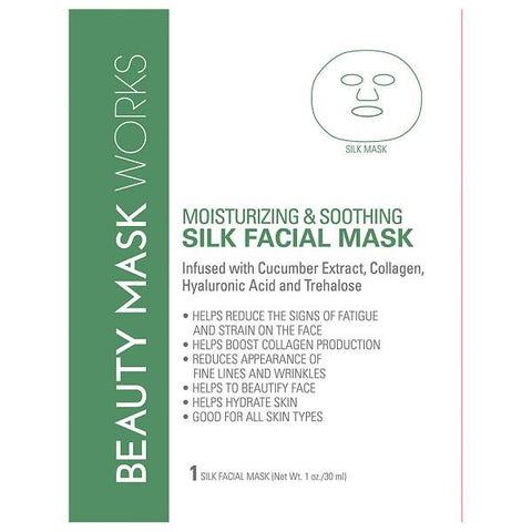 Beauty Mask Works Gold Leaf Black Charcoal Facial Mask