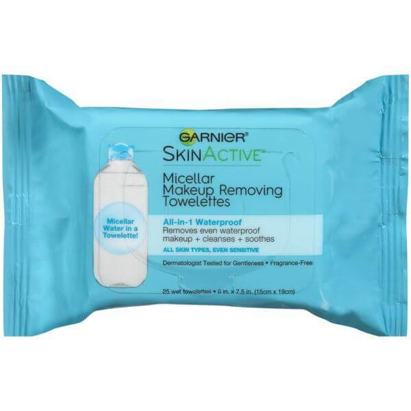Garnier SkinActive Micellar Waterproof Makeup Remover Wipes
