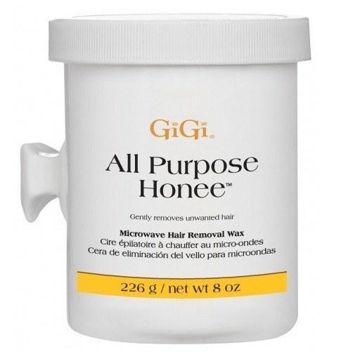 all purpose honee wax microwave formula - gigi - skincare & body