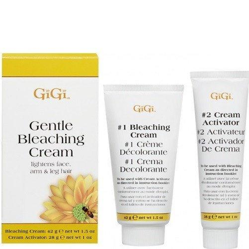 gentle bleaching cream - gigi - skincare & body