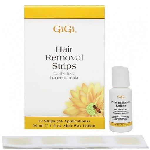 hair removal strips for the face - gigi - skincare & body