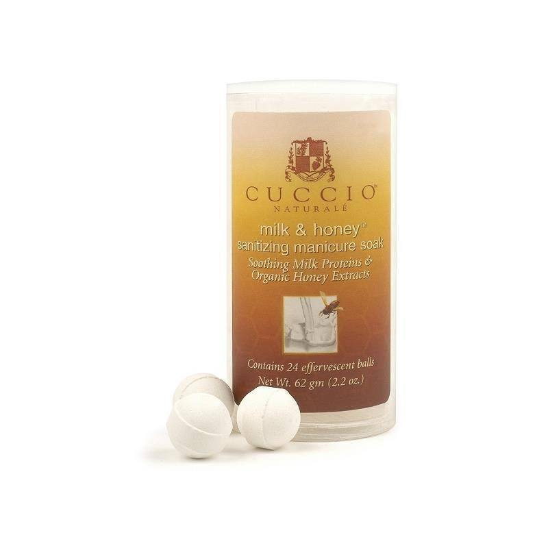 milk and honey manicure soak - cuccio - skincare & body