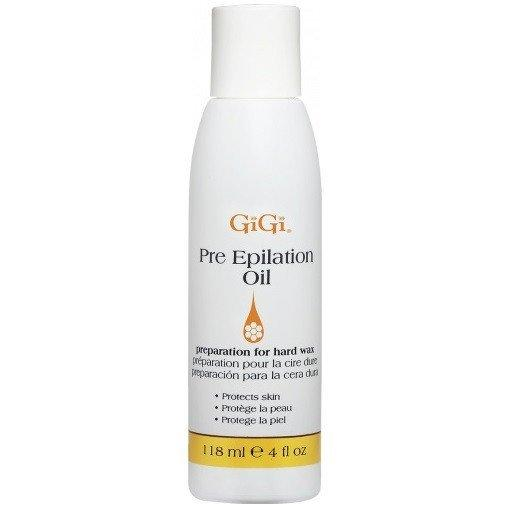 pre-epilating oil - gigi - skincare & body
