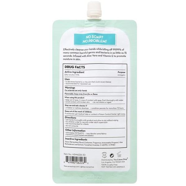 The Creme Shop Moisturizing Hand Sanitizer - Green Tea