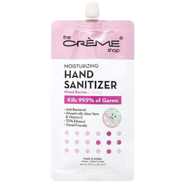 The Creme Shop Moisturizing Hand Sanitizer - Mixed Berry