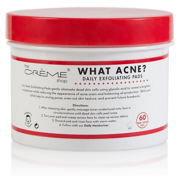 The Creme Shop What Acne? - Daily Exfoliating Pads