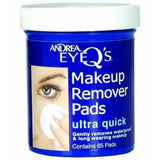 eye q's ultra quick eye makeup remover pads - andrea - lashes 2