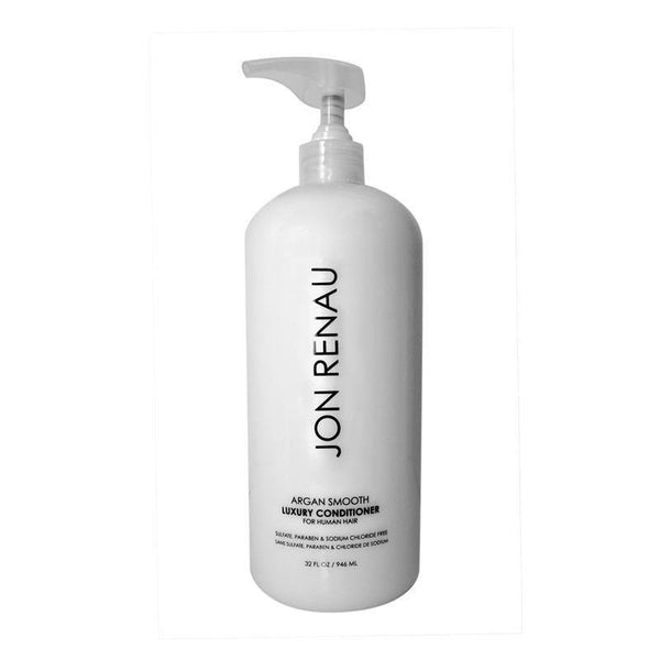 argan smooth luxury conditioner 32oz - jon renau - wig