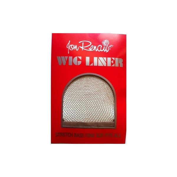 brown fishnet  liner - jon renau - wig