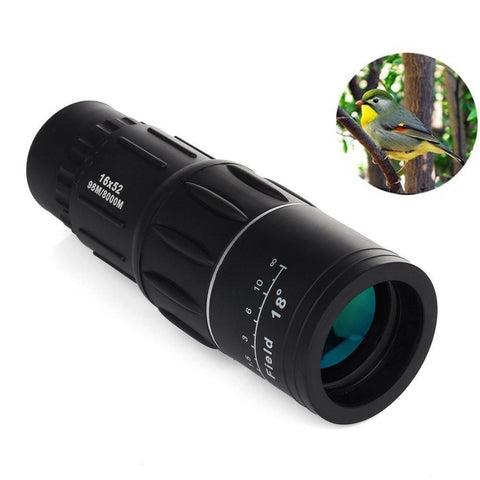★ Dual Focus ★  16x52 Monocular Telescopes Optics Zoom