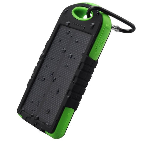 ★ Portable ★ Waterproof Solar Charger