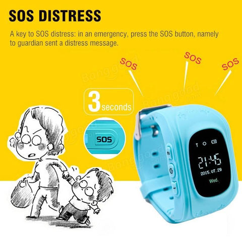 ★ Smart Watch GPS Tracker ★ For Kids - SocialVIP