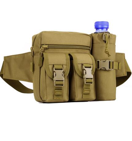 Army - ★ Military ★ Outdoor Waist Bag With Bottle Pack