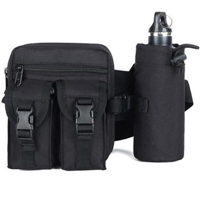 ★ Military ★ Outdoor Waist Bag With Bottle Pack - SocialVIP