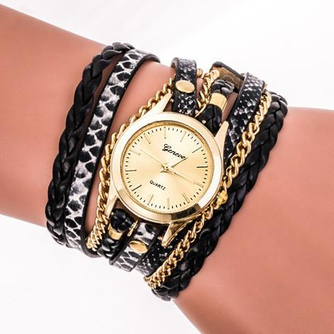 ★ Leather ★ Bracelet Watch