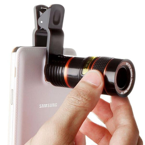 ★ 12X ★ Optical Zoom Phone Camera Lens Kit
