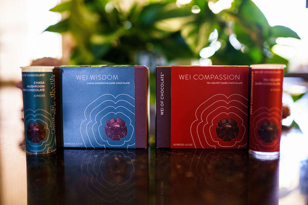Wholesale organic chocolate available from Wei of Chocolate