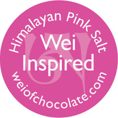 Wei Inspired Pink Salt Chocolate - 50 Bulk Stickered Pieces