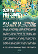 Earth Frequency festival PRESENTS HIGHER GROUND STAGE of 2021!