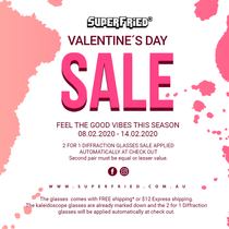 Love is in the air this Valentine's Day and it smells a lot like a promo and an offer