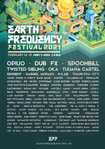 Earth Frequency Festival 2021
