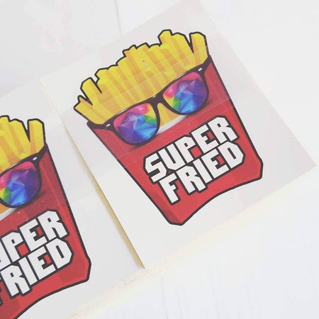 SuperFries Stickers