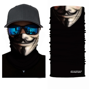 Anonymous Seamless Mask Bandana