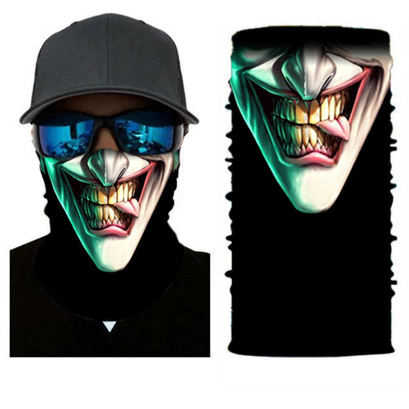 SuperFried Arkham Joker Face Mask Bandana