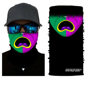 Balloon Man Rave Mask Bandana - SuperFried