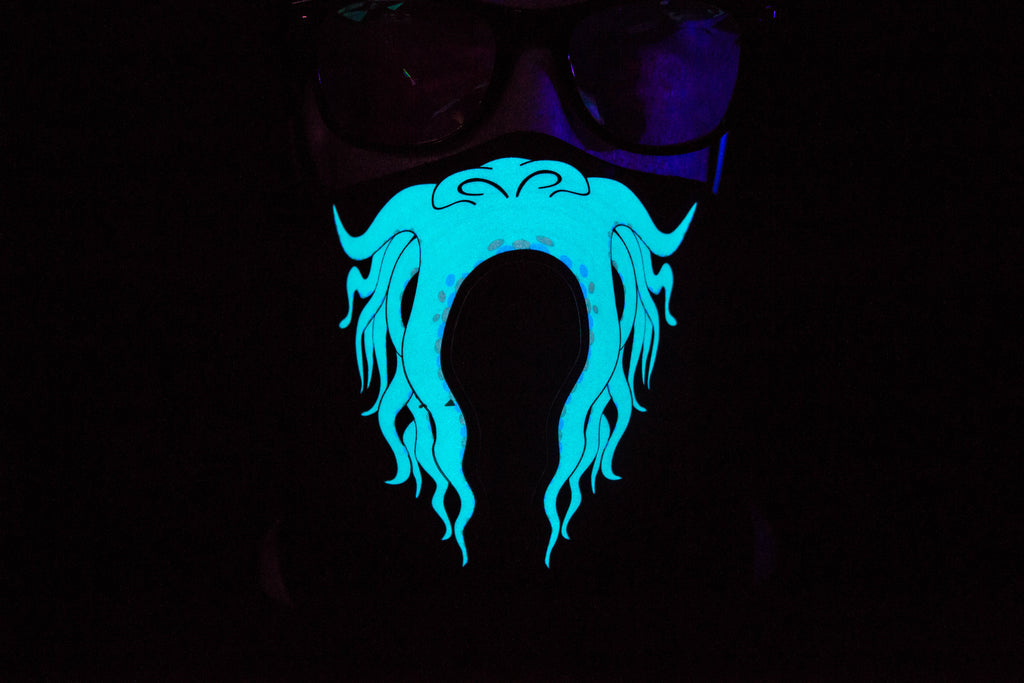 Barbossa LED Light up Panel Mask - SuperFried