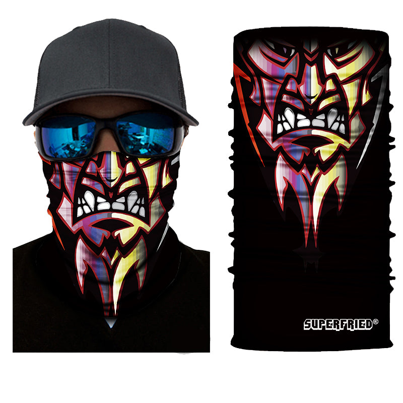 Beast Rave Face Mask Bandana - SuperFried