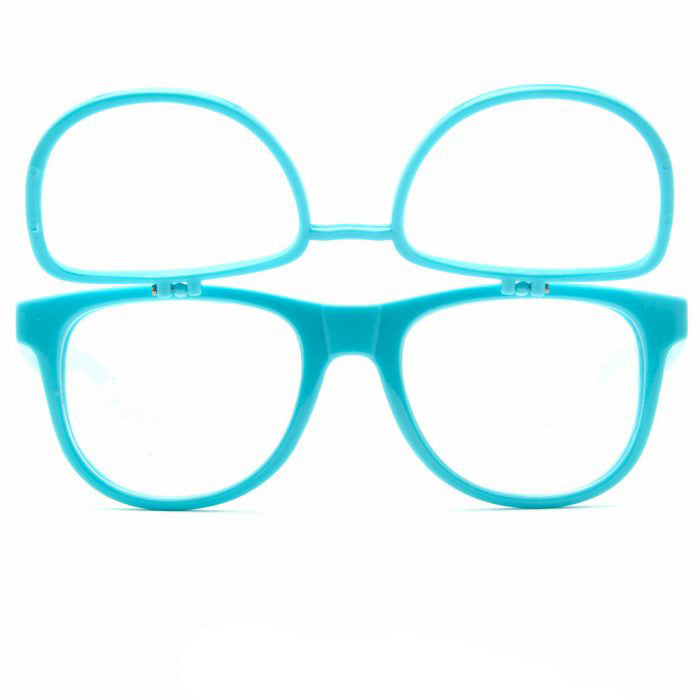Double Blue Firework Diffraction Glasses - SuperFried