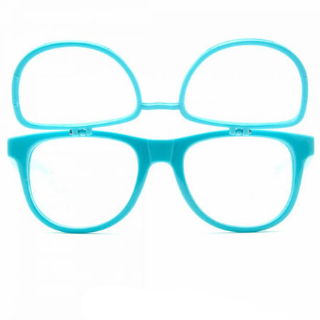 Double Blue firework diffraction glasses party eyewear rave