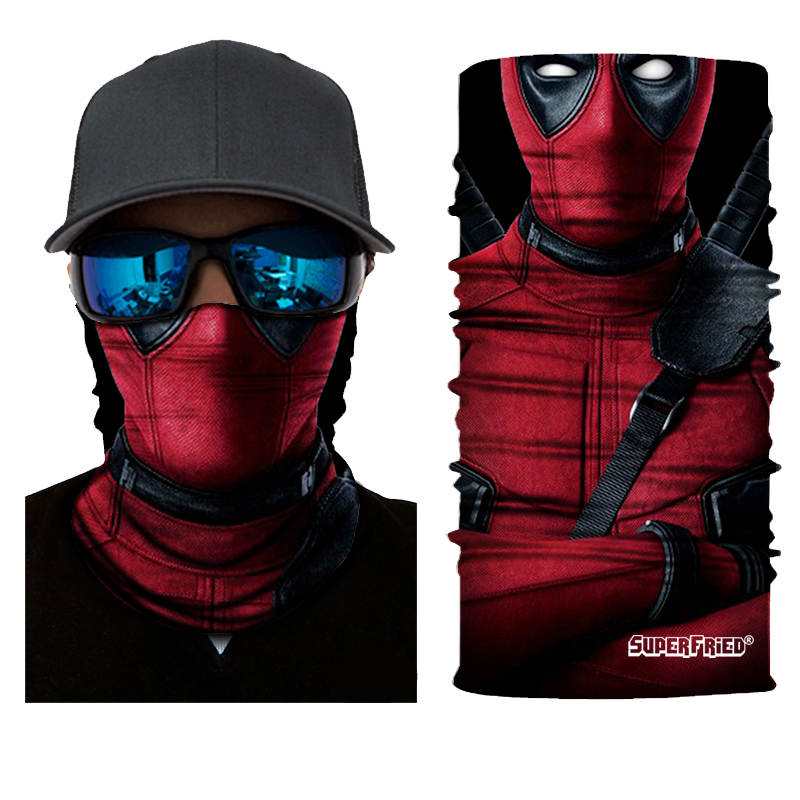 Deadpool 2 Seamless Mask Bandana