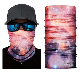 Fiery Space Seamless Mask Bandana