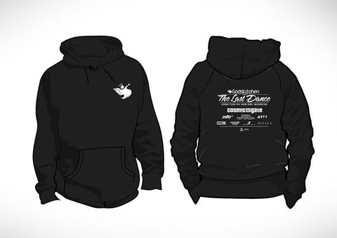 Godskitchen trance event biggest party music psytrance dj hoodie