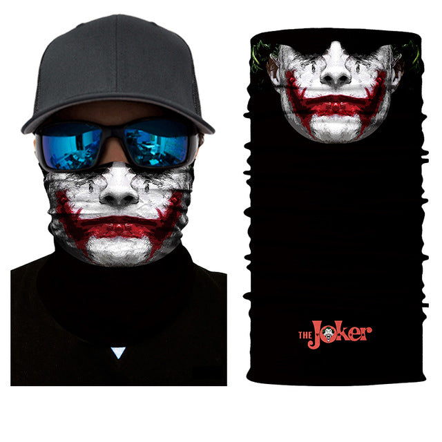 The Joker Rave Face Mask Bandana - SuperFried