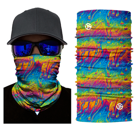 SuperFried Acid Rain Rave Mask Bandana