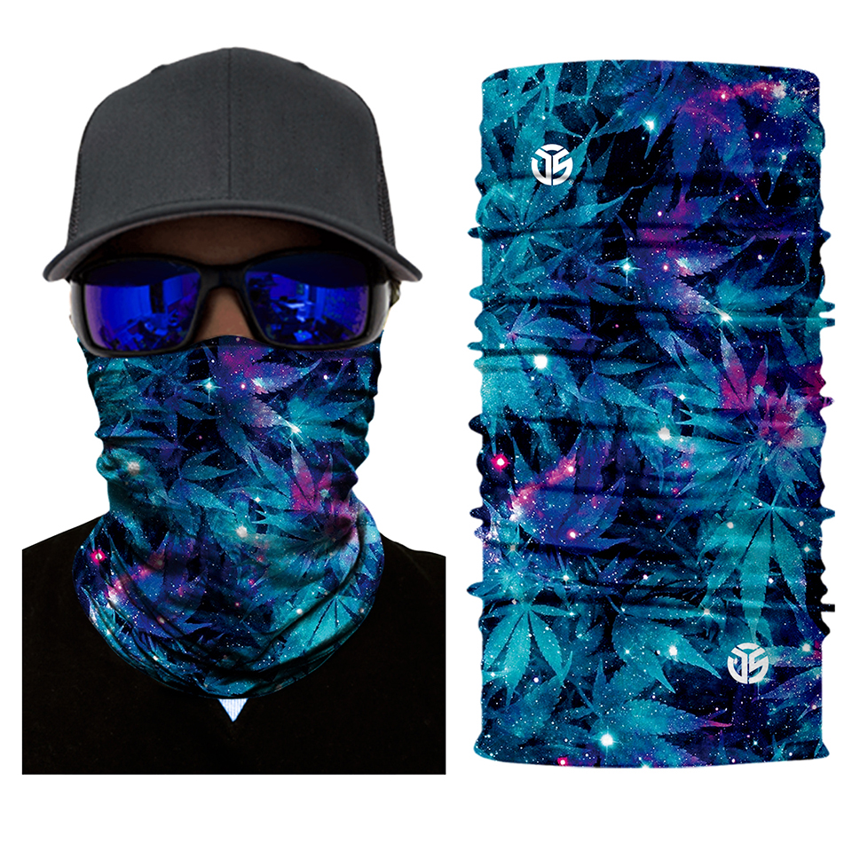Nebula Dope Rave Face Mask Bandana - SuperFried